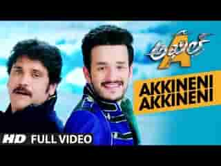 Akkineni Akkineni Video Song
