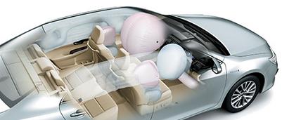 Toyota Camry-type 2.5 V safety