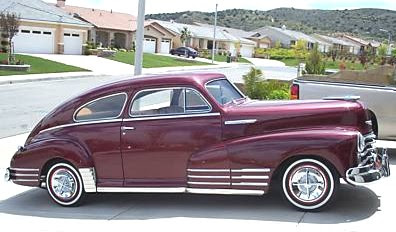 pre 1950 collector cars 1948 chevy fleetline for sale in california. Black Bedroom Furniture Sets. Home Design Ideas