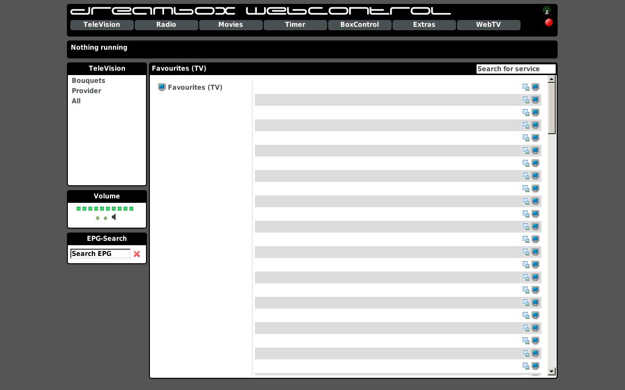 Dreambox WebControl @ Macedonia (MK), Berovo | Live Vlc