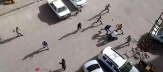 بالفيديو: شجار عنيف بين مجموعتين في ولاية شانلي أورفا
