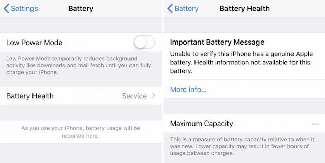 4 Cara Mengatasi Status Service pada Battery Health iPhone