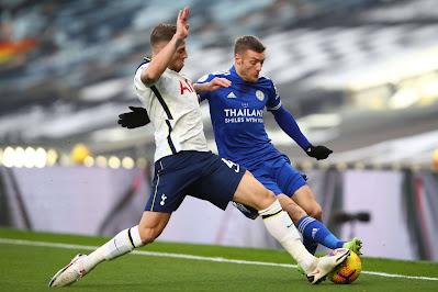 ملخص واهداف مباراة ليستر سيتي وتوتنهام (2-0) الدوري الانجليزي