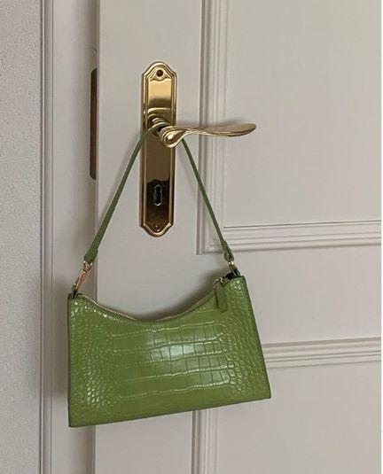Green Croc Bag