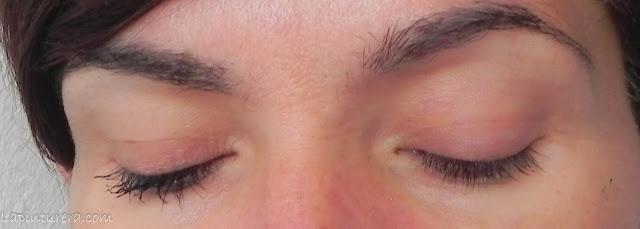 máscara dramatic definition en ojos cerrados