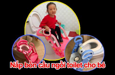 Tác dụng của nắp bồn cầu ngòi toilet cho bé là gì