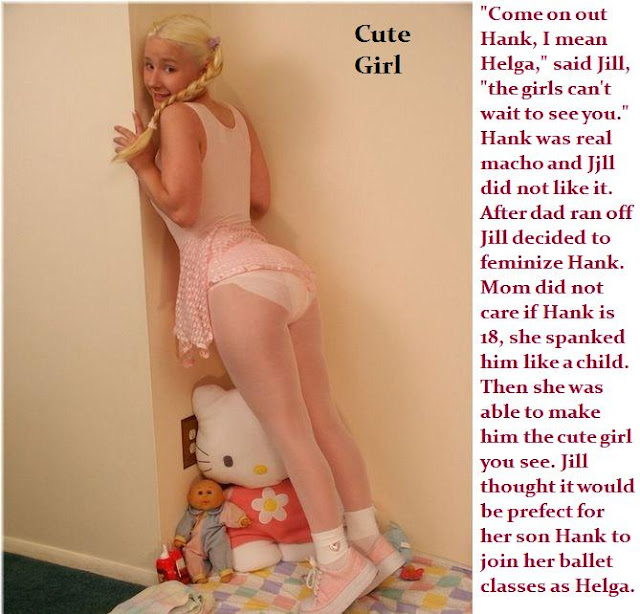 sissy conversion captions