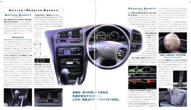 Mitsubishi Emeraude, mało znane auta, samochody z lat 90