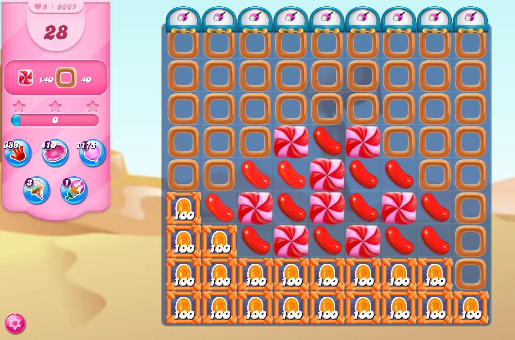 Candy Crush Saga level 9267