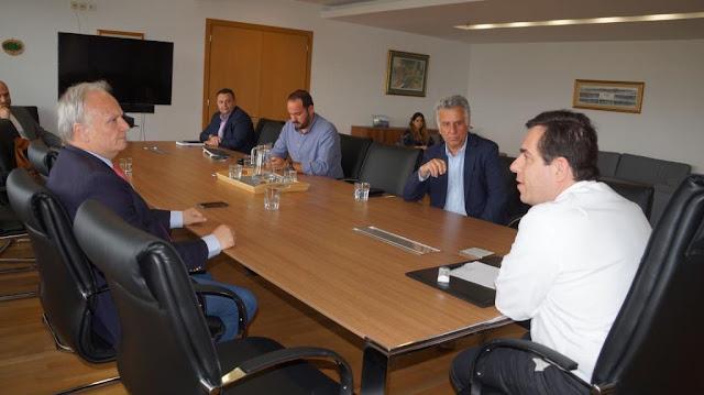 Με πρωτοβουλία Ανδριανού, σύσκεψη στο Υπουργείο Μετανάστευσης και Ασύλου για τη δομή φιλοξενίας στην Ερμιονίδα