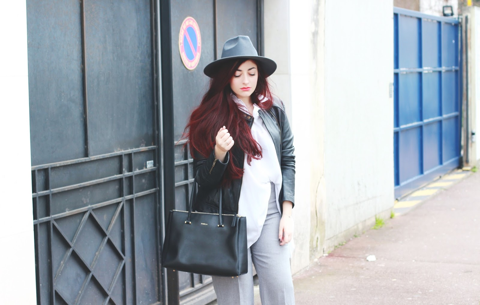 pantalon flare & chemise longue