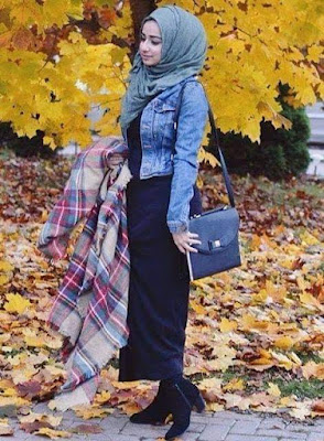 ستايل حجاب للربيع والصيف كوني مميزة