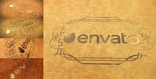 Elegant Leather Logo[Videohive][After Effects][10419868]