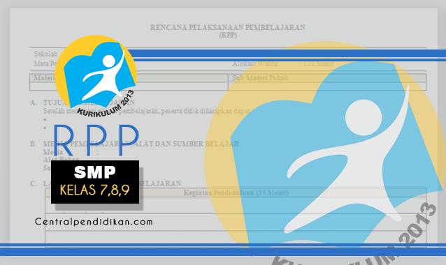 RPP 1 Lembar SMP Kurikulum 2013 Revisi 2021/2022, Lengkap