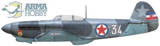 1_72_aircraft_news: .:Arma Hobby:. Jak-1b Allied Fighter Limited Edition -  preorder