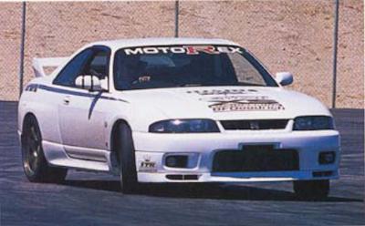 MotoRex R33 GT-R Sideways
