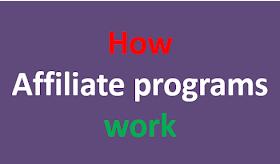 How affiliate programs work