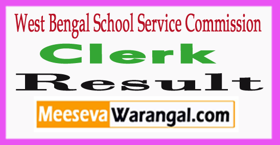WBSSC Clerk Results 2017