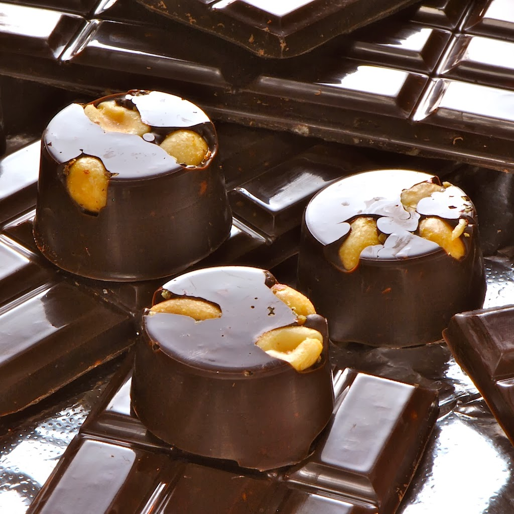 Homemade Dark Chocolates