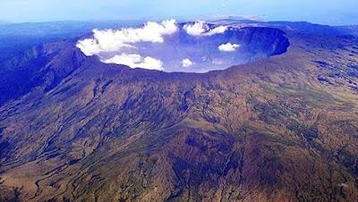 L'eruzione vulcanica più violenta della storia