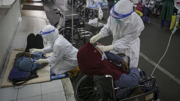 Anies: Ada 91 Ribu Kasus Aktif COVID-19 di DKI Hari Ini