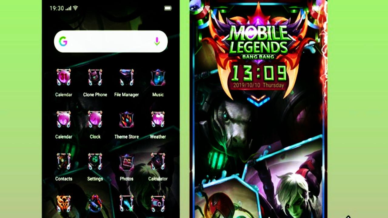 Tema Mobile Legend Keren untuk Realme dan OPPO Terbaru