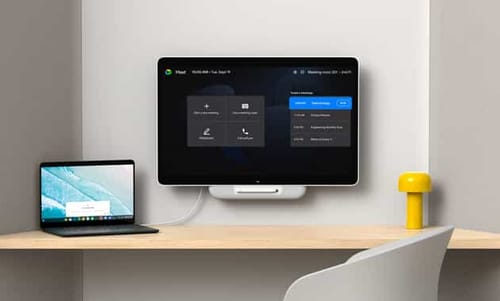 Series One Desk 27: Google Meet devices