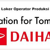 PT Astra Daihatsu Motor (ADM)   Lowongan Tahun 2018 Operator Produksi