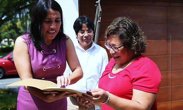 Ministra Flor Pablo agradece a 4,304 docentes que cesaron el 2019