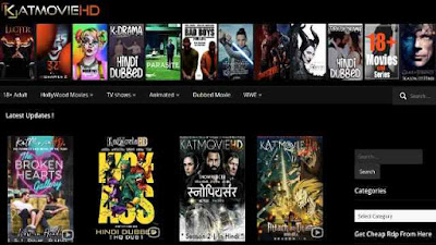 KATMOVIEHD Download All Bollywood, Hollywood Movies, Web Series in (Dual Audio) 480p 720p 1080p