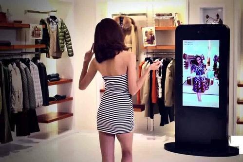 virtual mirror for apparel retailers