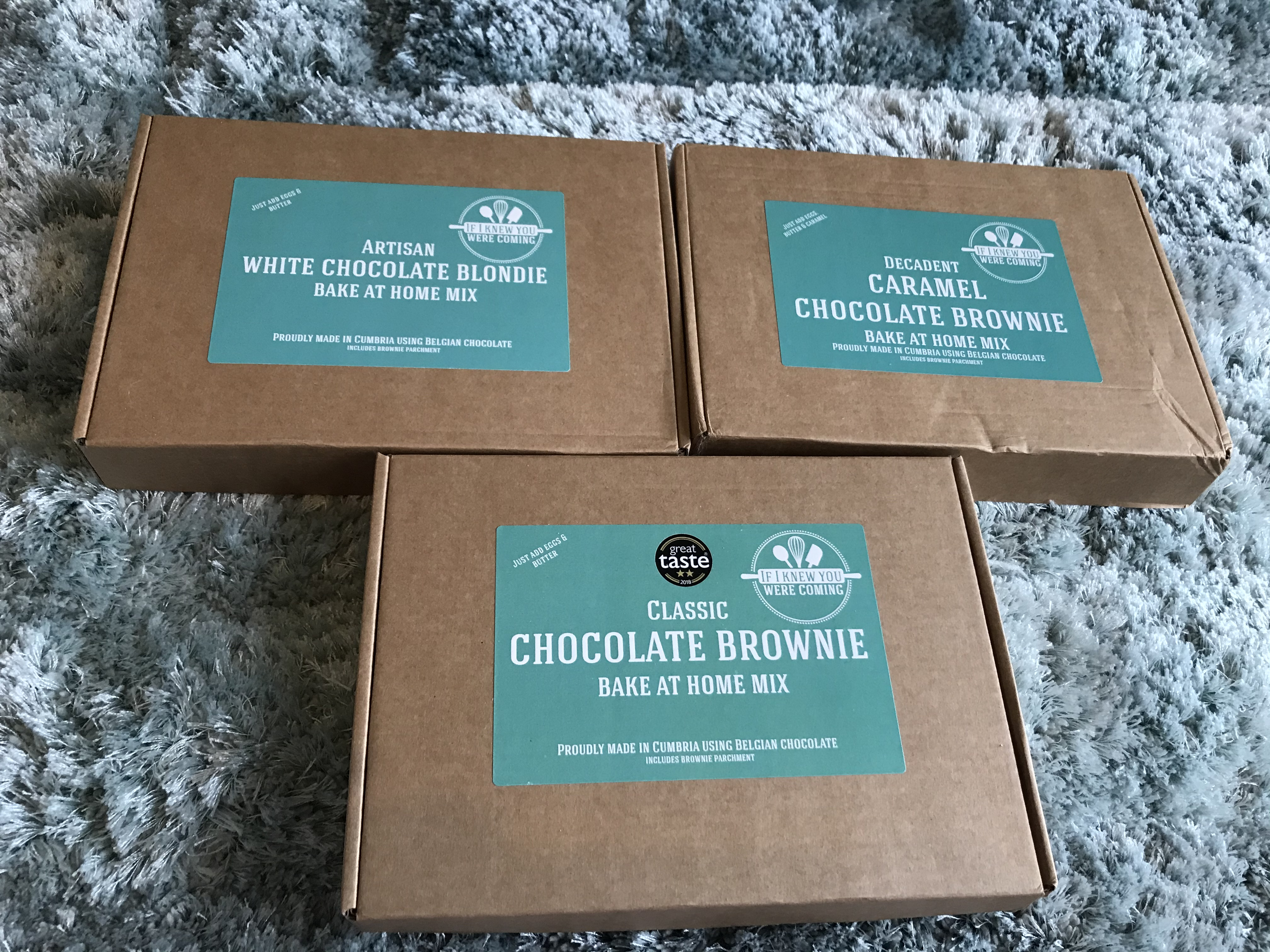 If I knew you were coming brownie subscription