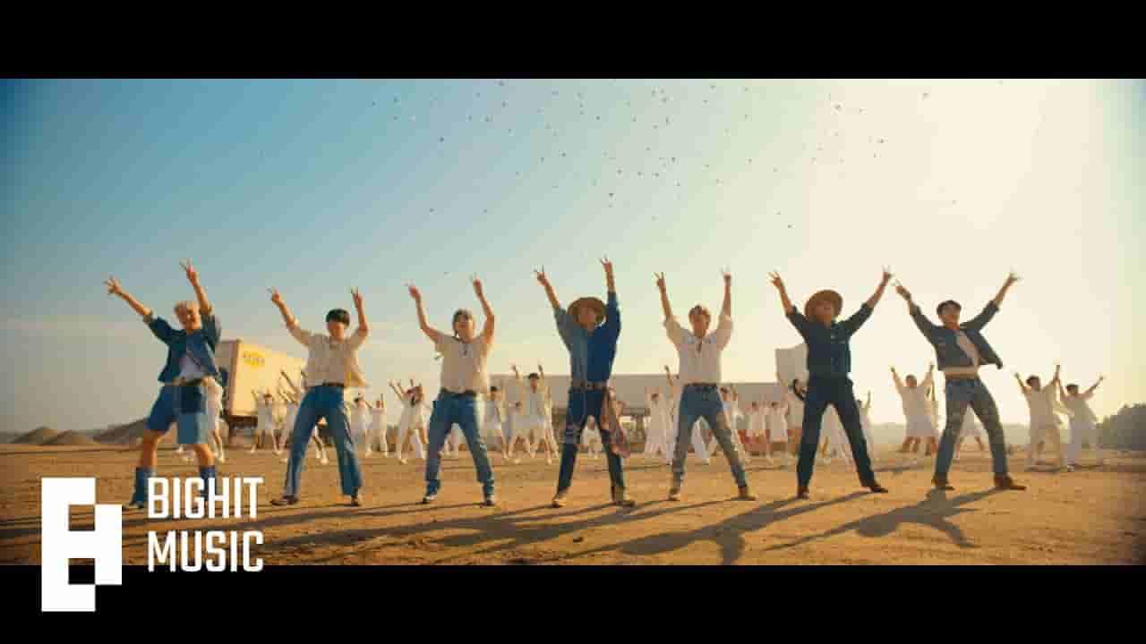 Permission to dance lyrics BTS English Song