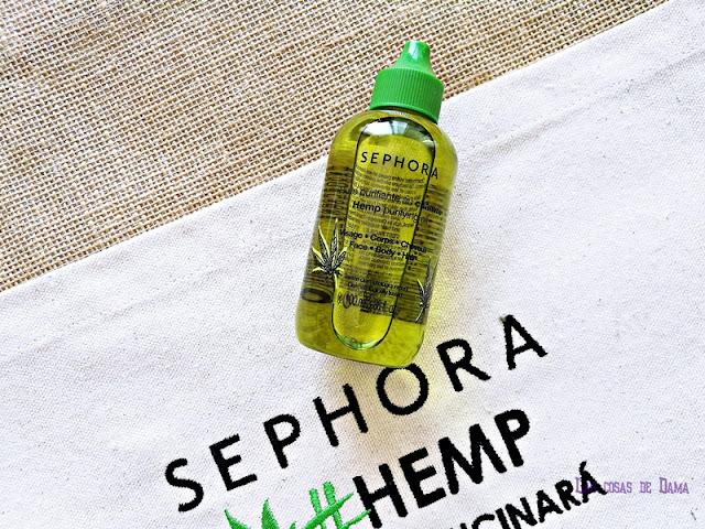 Hemp Oil Sephora Collection cáñamo cbd cannabis beauty belleza