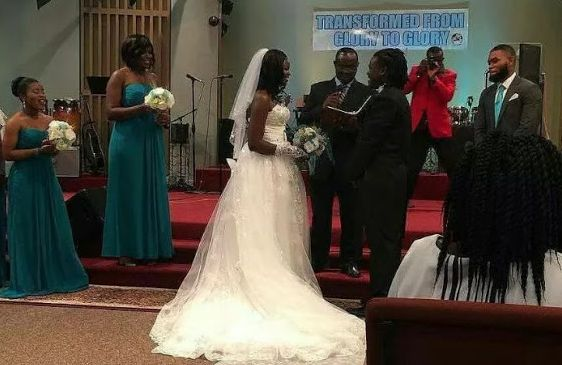 Eunice Njeri wedding to Isaac Bukasa annulled