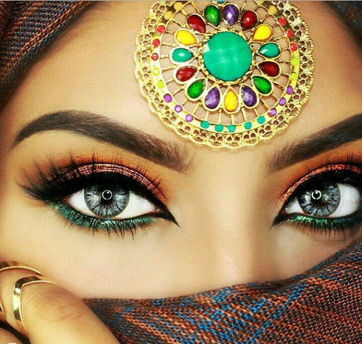 Stylish Makeup Eyes DP for Whatsapp