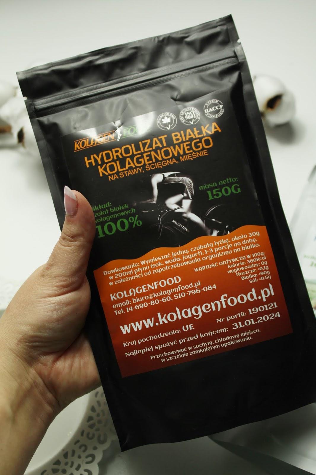 Hydrolizat białka kolagenowego Kolagenfood