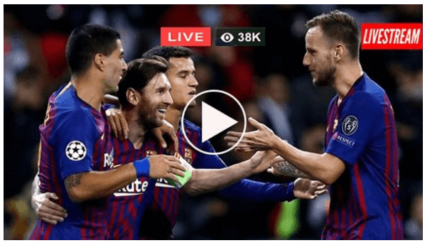 مشاهدة مباراة برشلونة وليفانتي بث مباشراليوم الدوري الاسباني barcelona vs levante live stream