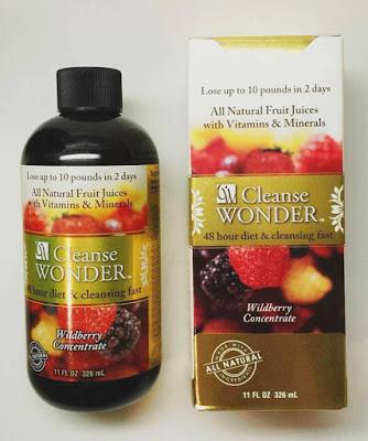 Giảm cân hiệu quả với nước uống giảm cân Cleanse Wonder