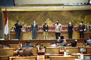 DPR Setujui Komjen Pol Listyo Sigit Prabowo Sebagai Kapolri