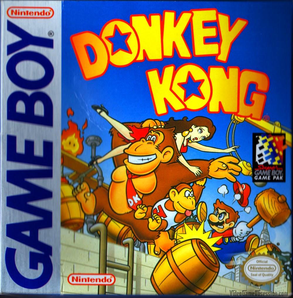 La Gameboyteca Coleccion De Todos Los Donkey Kong Roms Gb Gbc
