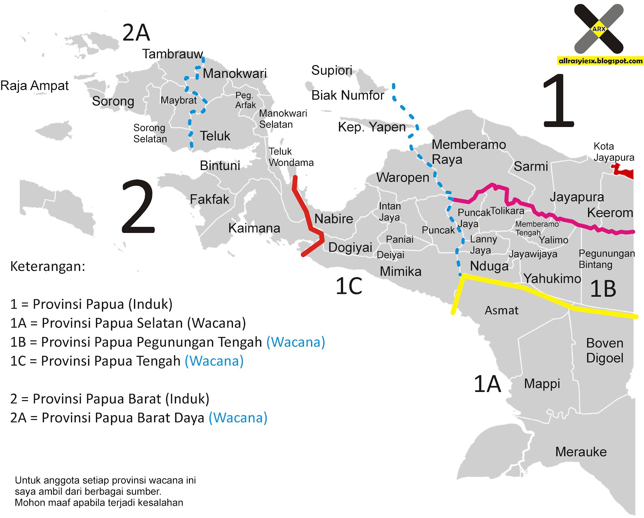 Wacana Pemekaran Provinsi Papua Dan Papua Barat 2020 Allrasyies X