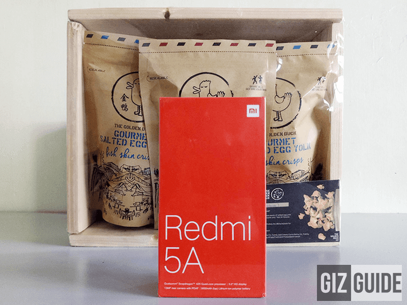 Raffle: Xiaomi Redmi 5A and The Golden Duck salted egg chips