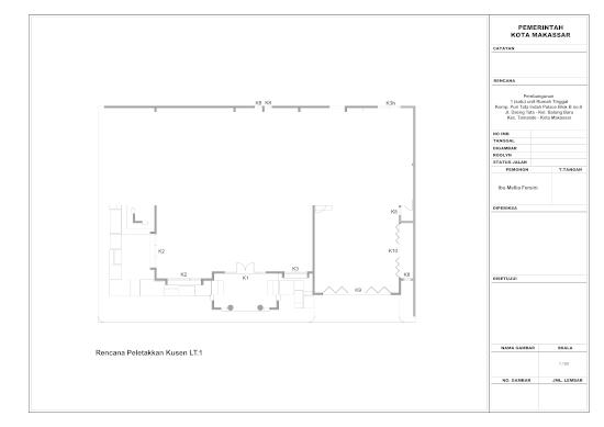 Contoh gambar kerja rumah minimalis 2 lantai bergaya timur tengah