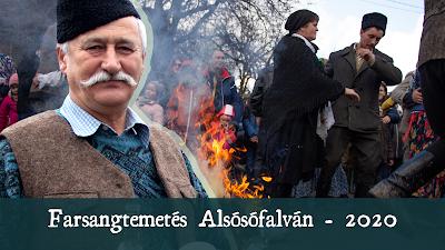 Farsangtemetés Alsósófalván - 2020