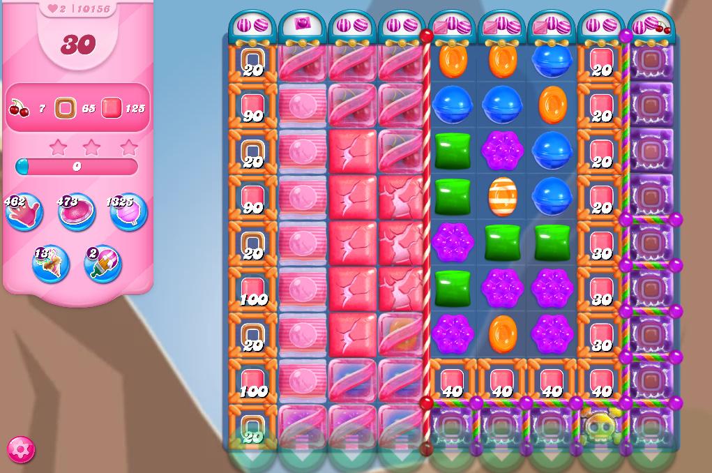 Candy Crush Saga level 10156