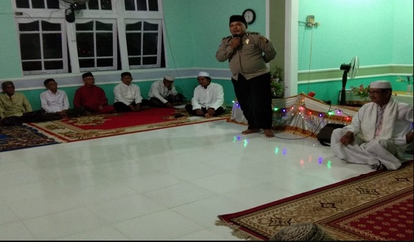 MTQ Tingkat RT di Desa Tanjung, Bhabinkamtibmas Sampaikan Ini