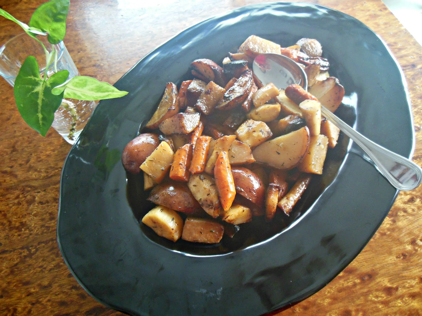 Slow Roasted Root Vegetables Recipe — Dishmaps
