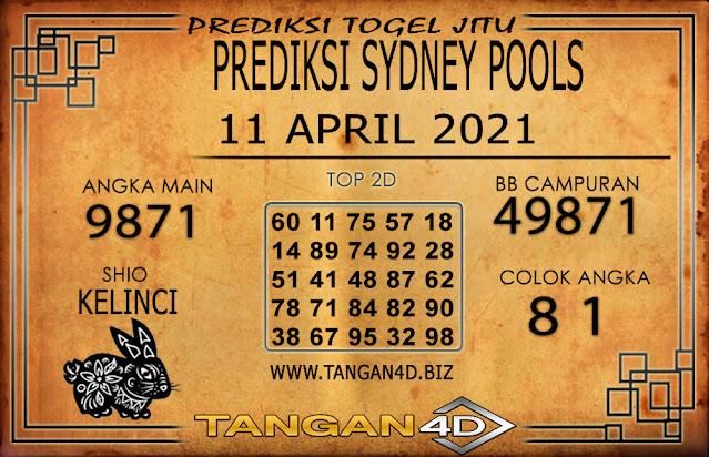 PREDIKSI TOGEL SYDNEY TANGAN4D 11 APRIL 2021