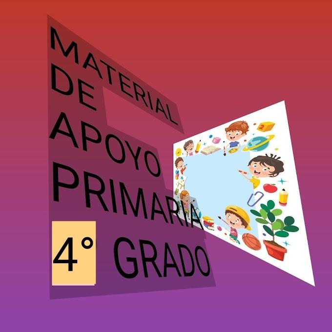 Material de Apoyo (Marzo-Abril) 4° Primaria